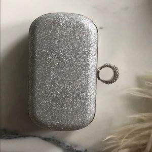 Silver Ring Clutch